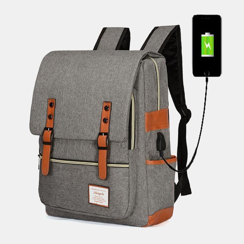 Sac à Dos avec Port de Charge USB style